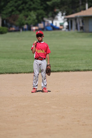 2015-06-07 Bees Baseball U8 vs Fairview 029