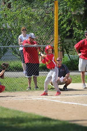 2015-06-07 Bees Baseball U8 vs Fairview 007