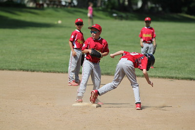 2015-06-07 Bees Baseball U8 vs Fairview 016