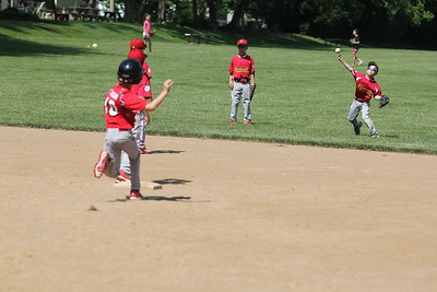 2015-06-07 Bees Baseball U8 vs Fairview 012