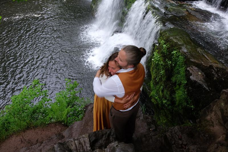 33brecon waterfall engagement photographyDSCF8764