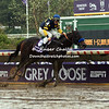 Winner of the Grey Goose Juvenile Fillies  Indian Blessing, trained by Bob Baffert, and ridden by Garrett Gomez