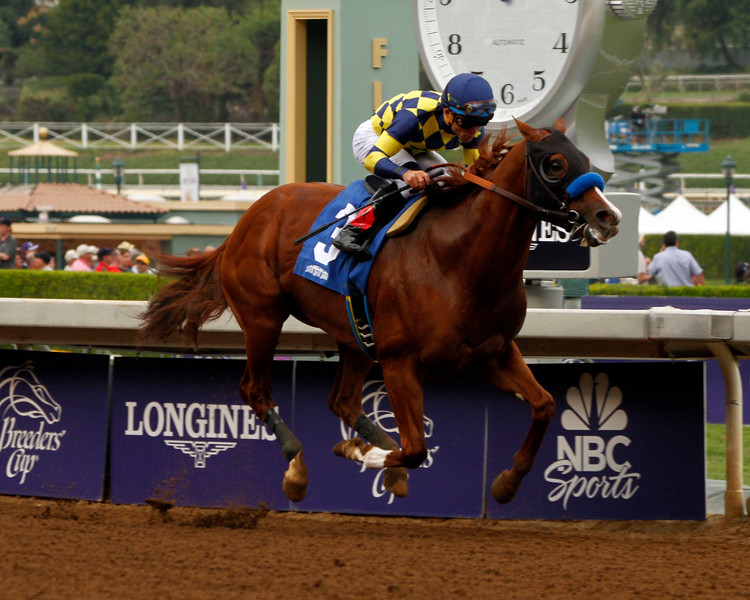 Chitu wins the Damascus Stakes