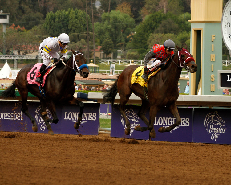 My Fiona wins the Golden State Juvenile Fillies