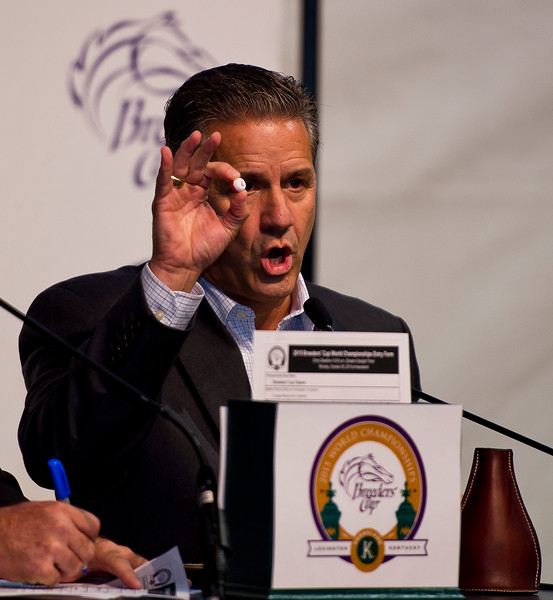 Horse Racing 2015: Breeders Cup Post Position Draw OCT 26