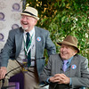 Caption:  ?? Bradley or Brent Burns, and Fred Bradley, right--Lenny will know<br /> Breeders' Cup races at Santa Anita near Arcadia, California, on Nov. 3, 2012.<br /> BCRACES2012      Turf  image<br /> Photo by Anne M. Eberhardt
