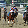 Groupie Doll, Rajiv Maragh up, wins the Breeders Cup  Filly & Mare Turf at Santa Anita...<br /> © 2012 Rick Samuels/The Blood-Horse