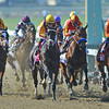 Start of the Juvenile Fillies. Eventual winner Beholder is on the rail...<br /> © 2012 Rick Samuels/The Blood-Horse