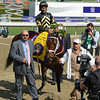 Hightail with Rajiv Maragh wins the Juvenile Sprint.<br /> Breeders' Cup races at Santa Anita near Arcadia, California, on Nov. 2, 2012.<br /> BCRACES2012                                          image677<br /> Photo by Anne M. Eberhardt