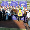 Principal of Stud Dona Pancha, left. Calidoscopio with Aaron Gryder wins the Breeders' Cup Marathon.<br /> Breeders' Cup races at Santa Anita near Arcadia, California, on Nov. 2, 2012.<br /> BCRACES2012                                          image512<br /> Photo by Anne M. Eberhardt