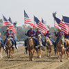 The American Flag on display at Santa Anita Park on November 2, 2012 for the Breeders' Cup.