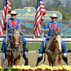 Caption: opening ceremony <br /> Breeders' Cup races at Santa Anita near Arcadia, California, on Nov. 2, 2012.<br /> BCRACES2012                                          image<br /> Photo by Anne M. Eberhardt