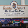 Santa Anita Park sign welcoming the Breeders' Cup on November 2 & 3.