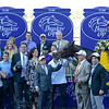 Caption: PRES: Romans, Tammy Fox, Vaccarezza.  Little Mike with Ramon Dominguez wins the Turf.<br /> Breeders' Cup races at Santa Anita near Arcadia, California, on Nov. 3, 2012.<br /> BCRACES2012      Turf  image291<br /> Photo by Anne M. Eberhardt