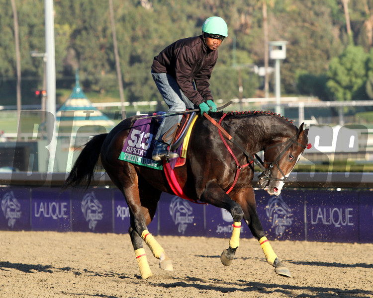 Trinniberg Kevin Krigger Breeders' Cup Sprint Chad B. Harmon