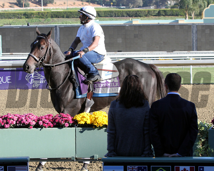 Ramon Dominguez Golden Ticket Breeders' Cup Chad B. Harmon