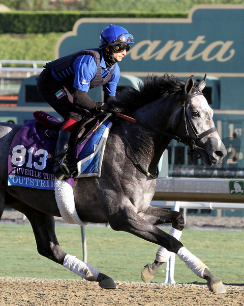 Outstrip Breeders' Cup Juvenile Turf Chad B. Harmon