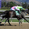 Ria Antonia wins the 2013 Breeders' Cup Juvenile Fillies.<br /> Dave Harmon Photo