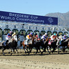 Start of the Breeders' Cup Juvenile.<br /> Photo by Dave Harmon