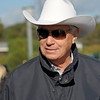 Caption:  D. Wayne Lukas<br /> Breeders' Cup horses and connections at Santa Anita near Acadia, California, preparing for Breeders' Cup raceways on Nov. 1 and Nov. 2, 2013.<br /> BCWorks1Jpegs_10_29_13 image669<br /> Photo by Anne M. Eberhardt