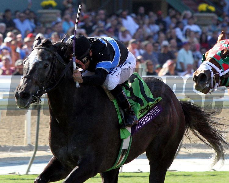Mizdirection Mike Smith Breeders' Cup Turf Sprint Chad B. Harmon Santa Anita Park