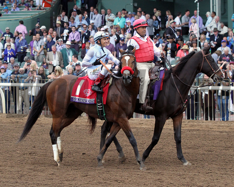Goldencents Breeders' Cup Dirt Mile Chad B. Harmon