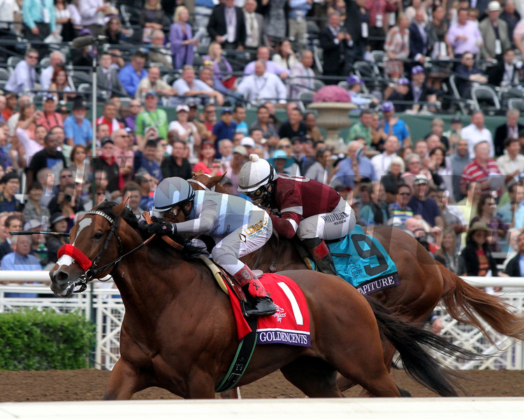 Route vers la (31e) Breeders' Cup 2014 - Page 3 Goldencents_DirtMile_03_CBH-L