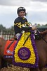 Mike Smith was all smiles after winning the Breeders' Cup Filly & Mare Sprint (G. I) atop Judy the Beauty on November 1, 2014.
