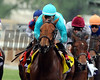 Lady Eli wins the 2014 Breeders' Cup Juvenile Fillies Turf. <br /> Dave Harmon Photo.