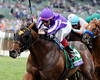 Hootenanny wins the 2014 Breeders' Cup Juvenile Turf.<br /> Dave Harmon Photo