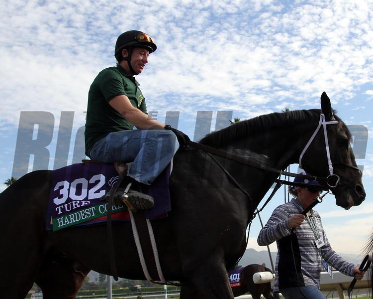 Hardest Core Breeders' Cup Santa Anita Park Chad B. Harmon