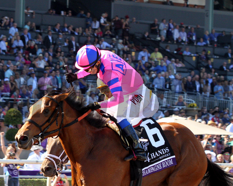 Champagne Room Mario Gutierrez Breeders' Cup Juvenile Fillies Chad B. Harmon