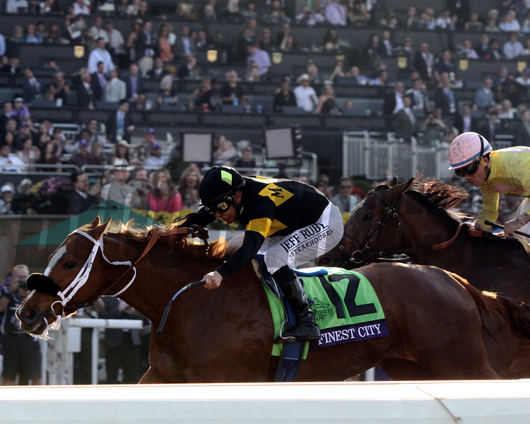 Finest City Mike Smith Breeders' Cup Filly & Mare Sprint Chad B. Harmon