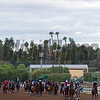 Horses coming on to the track <br /> Works at Santa Anita in preparation for 2016 Breeders' Cup on Oct. 29 2016, in Arcadia, CA.