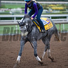 Win the Space<br /> Works at Santa Anita in preparation for 2016 Breeders' Cup on Oct. 31, 2016, in Arcadia, CA.