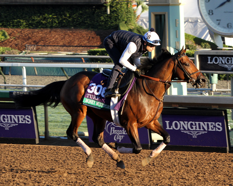 Money Multiplier Breeders' Cup Turf Chad B. Harmon
