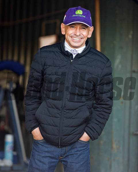 Mike Smith<br /> Morning scenes at Santa Anita in preparation for 2016 Breeders' Cup on Nov. 2, 2016, in Arcadia, CA.