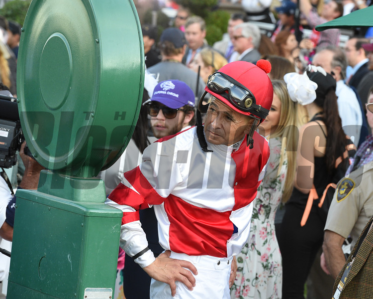 Mike Smith after finishing second aboard Songbird in the 2016 Breeders' Cup Distaff<br /> Dave Harmon Photo