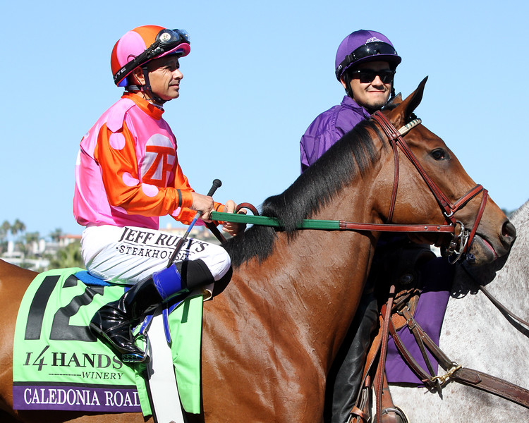 Caledonia Road Breeders' Cup Juvenile Fillies Del Mar Chad B. Harmon