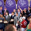 Connections of Gun Runner after winning the Breeders Cup Classic on November 4, 2017. Photo by Anne Eberhardt.
