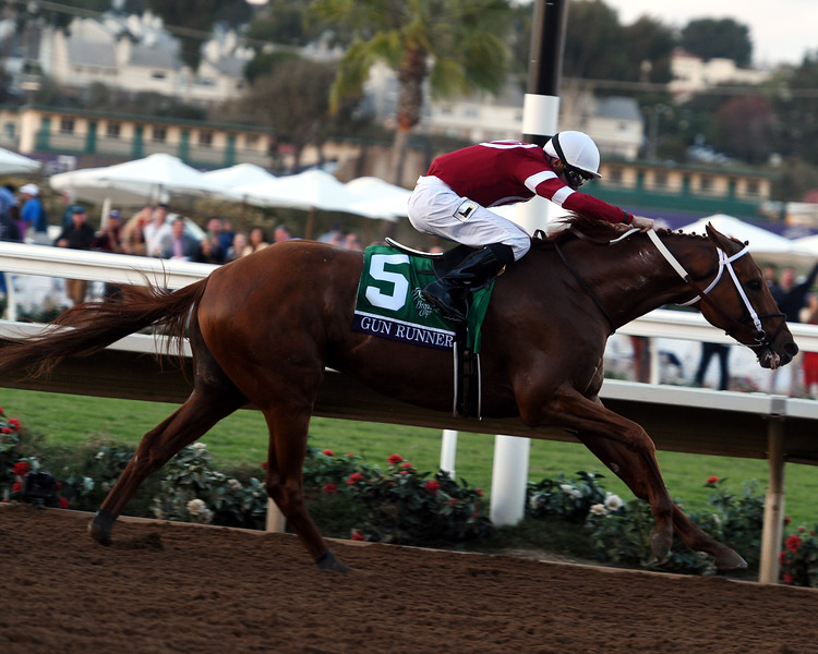 Gun Runner; Florent Geroux; Breeders' Cup Classic; G1; Del Mar Racetrack; November 4 2107