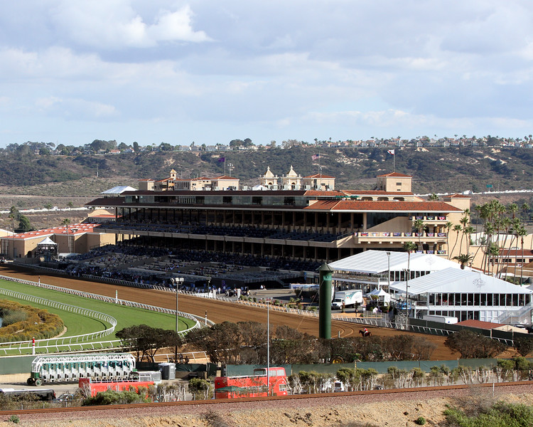 Del Mar Racetrack Chad B. Harmon