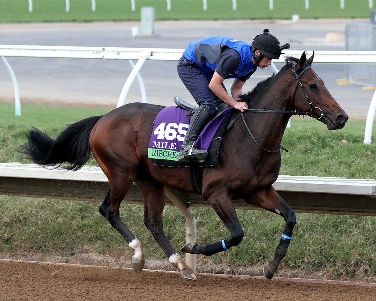 Ribchester Breeders' Cup Mile Del Mar Chad B. Harmon