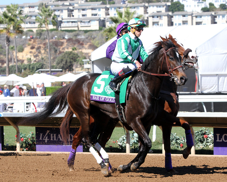 Bar Of Gold Breeders' Cup Filly & Mare Sprint Chad B. Harmon