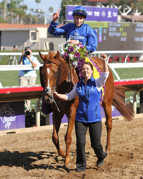 Wuheida Breeders' Cup Filly & Mare Turf Del Mar Chad B. Harmon