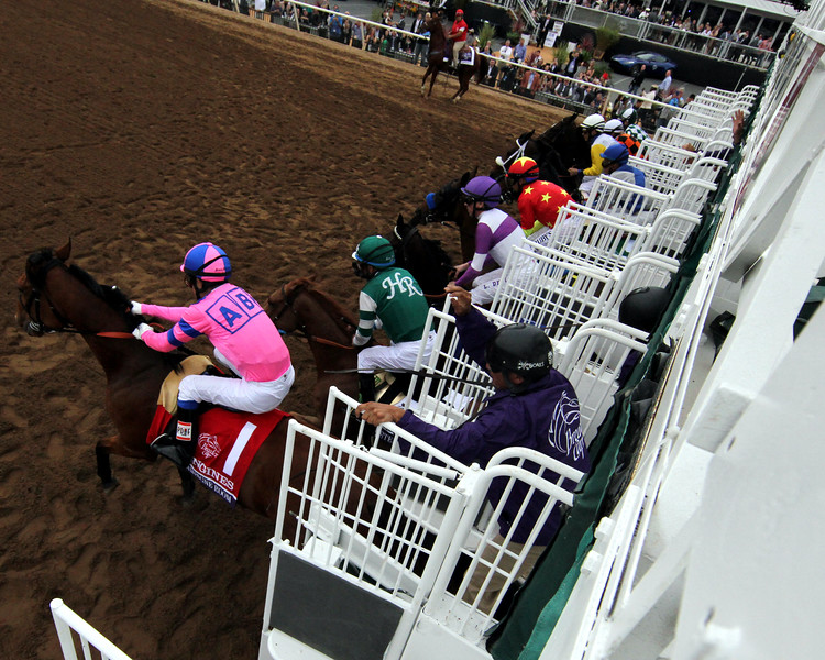 Gate Remote Breeders' Cup Distaff Del Mar Chad B. Harmon