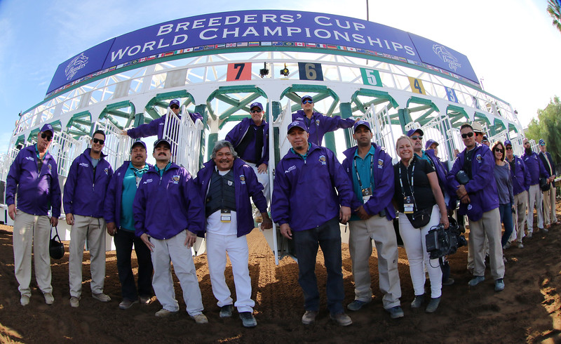 Starting Gate Crew Del Mar Breeders' Cup Chad B. Harmon