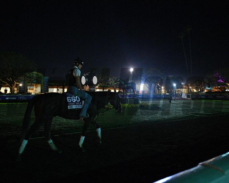 Omaha Beach<br /> Horses and scenes at  Oct. 26, 2019 Santa Anita in Arcadia, CA.