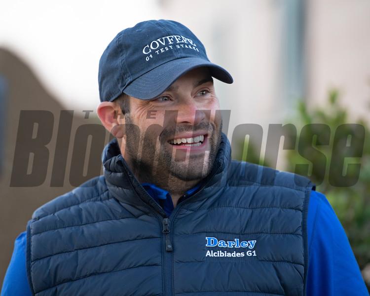 Brad Cox<br /> at  Oct. 30, 2019 Santa Anita in Arcadia, CA.