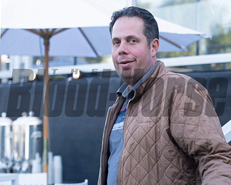 Phil D'Amato<br /> at  Oct. 31, 2019 Santa Anita in Arcadia, CA.